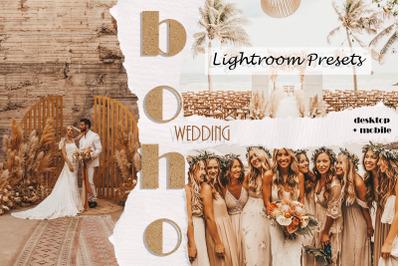 Boho Wedding Lightroom Presets | Mobile & Desktop