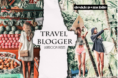 Travel Blogger Lightroom Presets | Mobile &Desktop