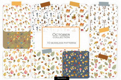 October pattern collection