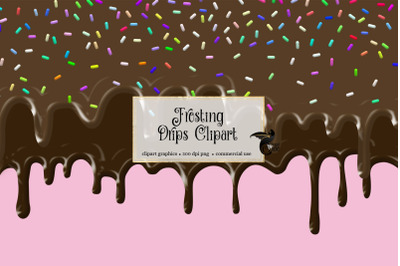 Frosting Drips Clipart