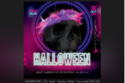 Halloween Neon
