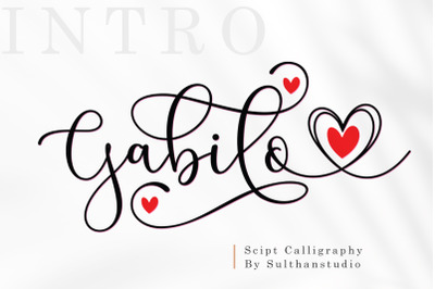 Gabilo Script