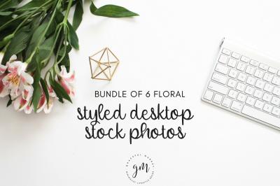 Florals | 6 Stock Image Bundle