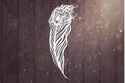 Peacock Mandala Svg, Bird Svg