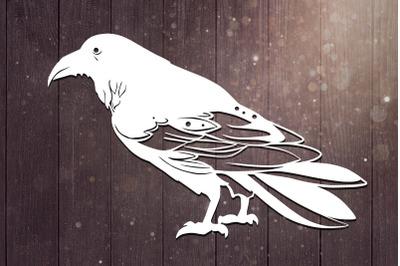Raven Svg, Bird Svg