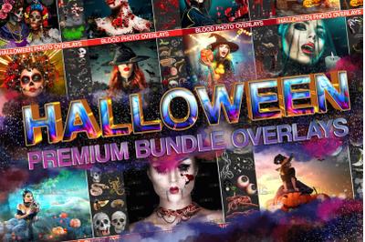 250+ Bundle Halloween overlay&Photoshop overlay: Halloween png overlay
