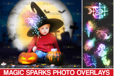 Sparkler overlays & photoshop overlay: Magic wand photo overlay