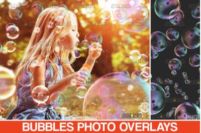 30 Photoshop overlay: Bubble overlays, Soap bubbles