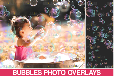 Photoshop overlay: Bubble overlays & Soap bubble transparent