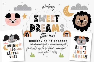 Sweet Dreams Little One Nursery Creator
