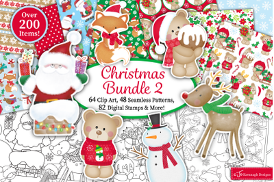 Christmas Bundle, Christmas clipart -B2