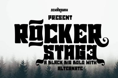 Rocker stage