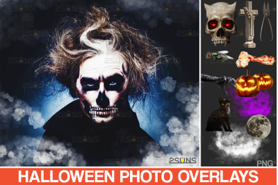 Fog overlay & Halloween overlays, Photoshop overlay