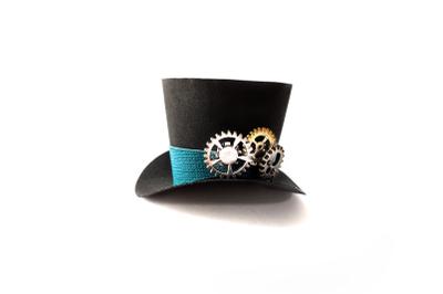 3D Mini Top Hat | SVG | PNG | DXF | EPS