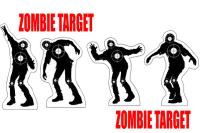 evil target zombies