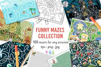 Funny Mazes Collection