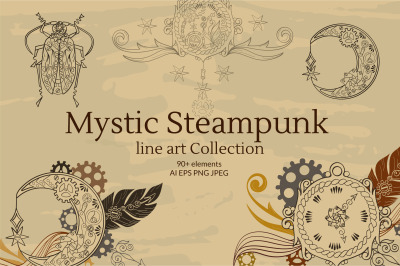 Linear Mystic Steampunk Collection