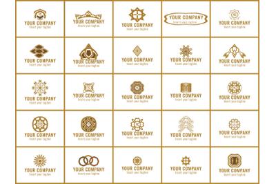 Logo Gold Bunldes 25 Ornament