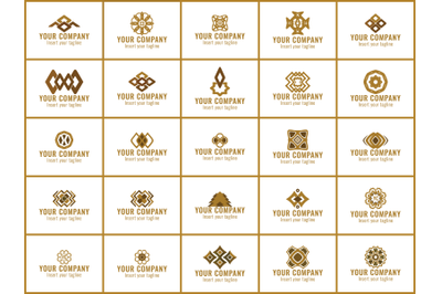 Logo Gold Bundles 25 gradation