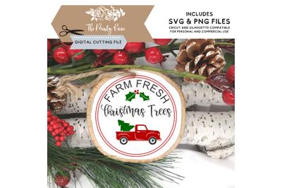 Farm Fresh Christmas Trees, Cricut and Silhouette cutting files