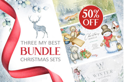 3 in 1 Christmas BUNDLE 50%OFF