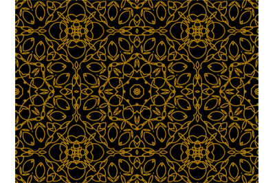 Pattern Gold Abstract