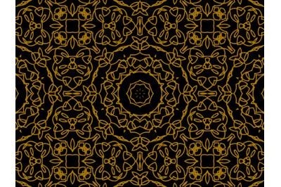 Pattern Gold Circle