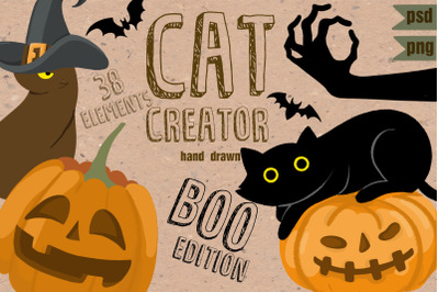 Cat Creator Halloween collection