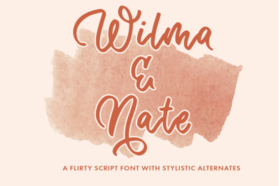 Wilma & Nate