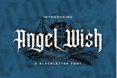 Angel Wish - Blackletter Font