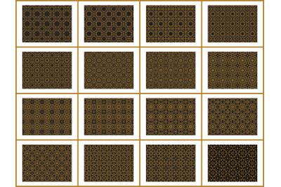 Pattern Gold Bundles 16
