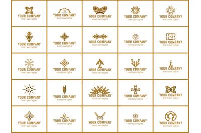 Logo Gold bunldes 25 Line Of Ornament