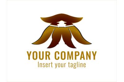 Logo Gold Octopus Motif
