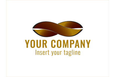 Logo Gold Infinite Motif
