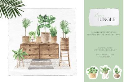 Home Jungle - Boho Plants Set