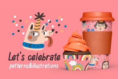 Let's celebrate | patterns & objects
