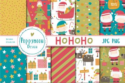 HoHoHo paper set