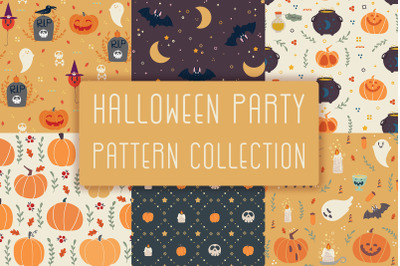 Halloween Party! Patterns collection