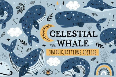 Celestial whale collection