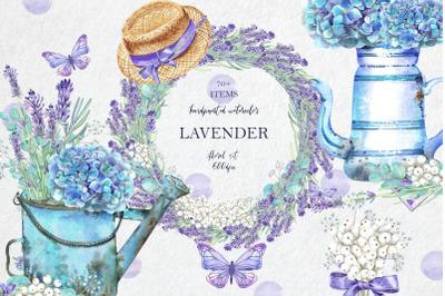 LAVENDER Floral Set