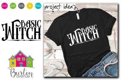 Basic Witch Halloween SVG File | Halloween SVG File