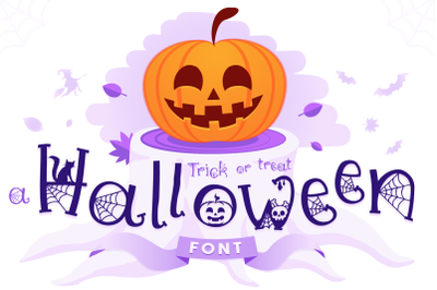 A Halloween Font - Trick or Treat