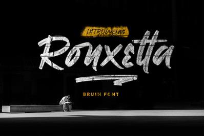 Ronxetta | BRUSH FONT