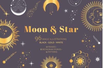 Moon & Star Magic Celestial pack