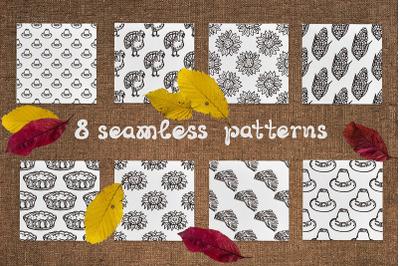 8 Thanksgiving patterns