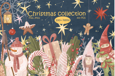New Year and Christmas collection