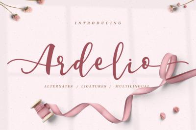 Ardelio Beautiful Script