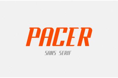 Pacer - Sports Sans Serif Font