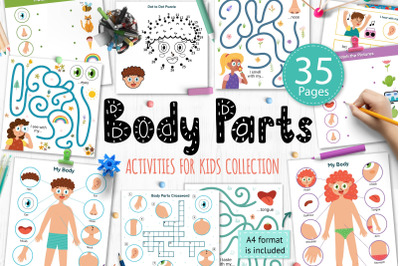 Body Parts Activity Pages