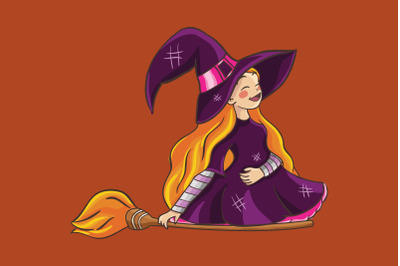Halloween Laugh Witch